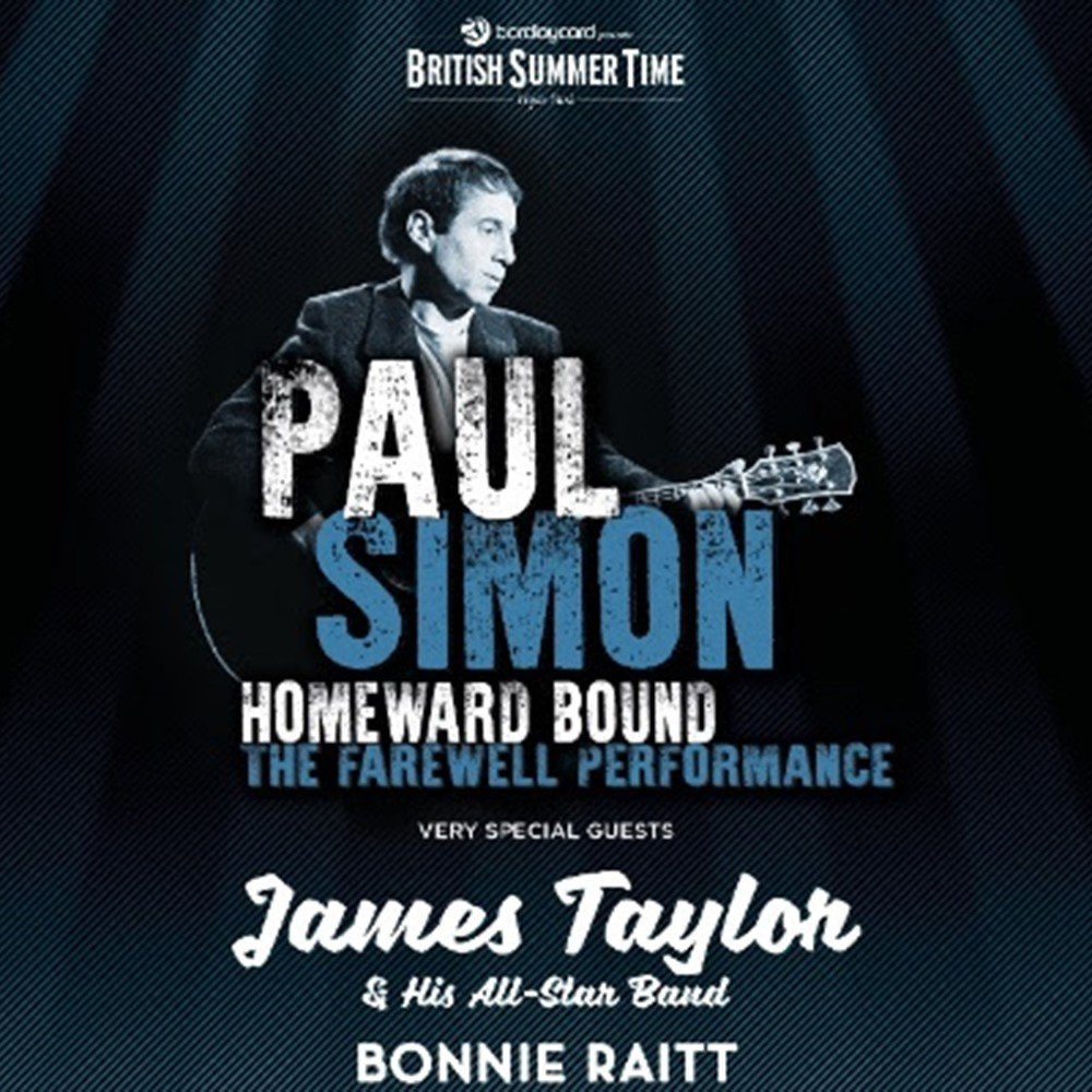 BST - Paul Simon, Hyde Park 2018