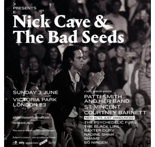 All Points East - Nick Cave & The Bad Seeds 2018