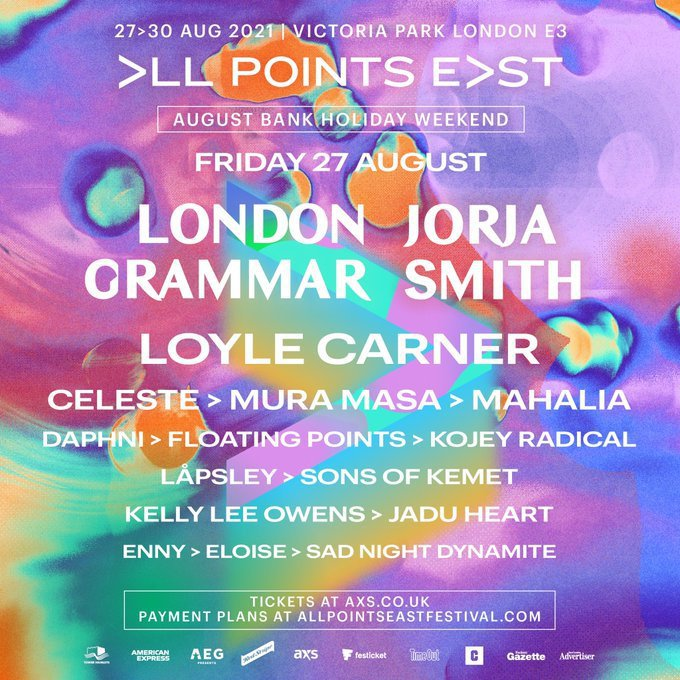 London Grammar All Points East Line Up 1