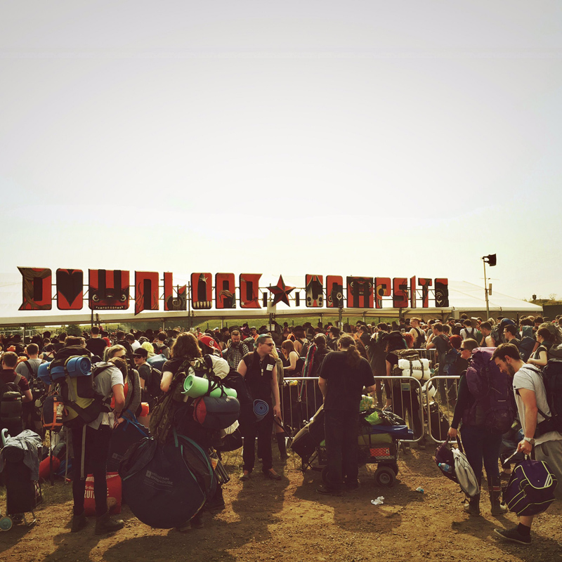 Keen rockers as we open up the gates to Download Festival 2016 campsites!
