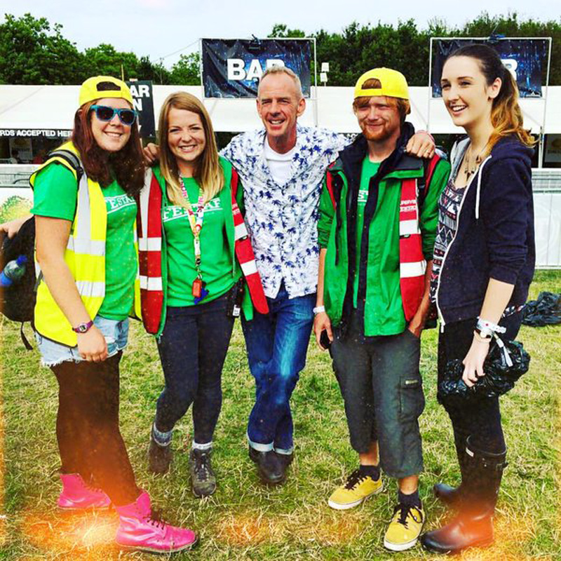 The team got to catch up with Norman Cook AKA Fatboy Slim for his world record attempt at Cream '15.