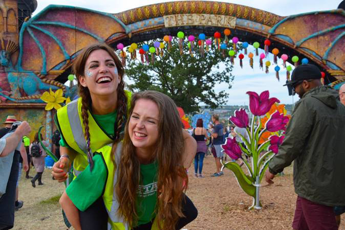 Top five reasons to volunteer at a festival