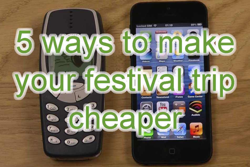 5 ways to make your festival cheaper