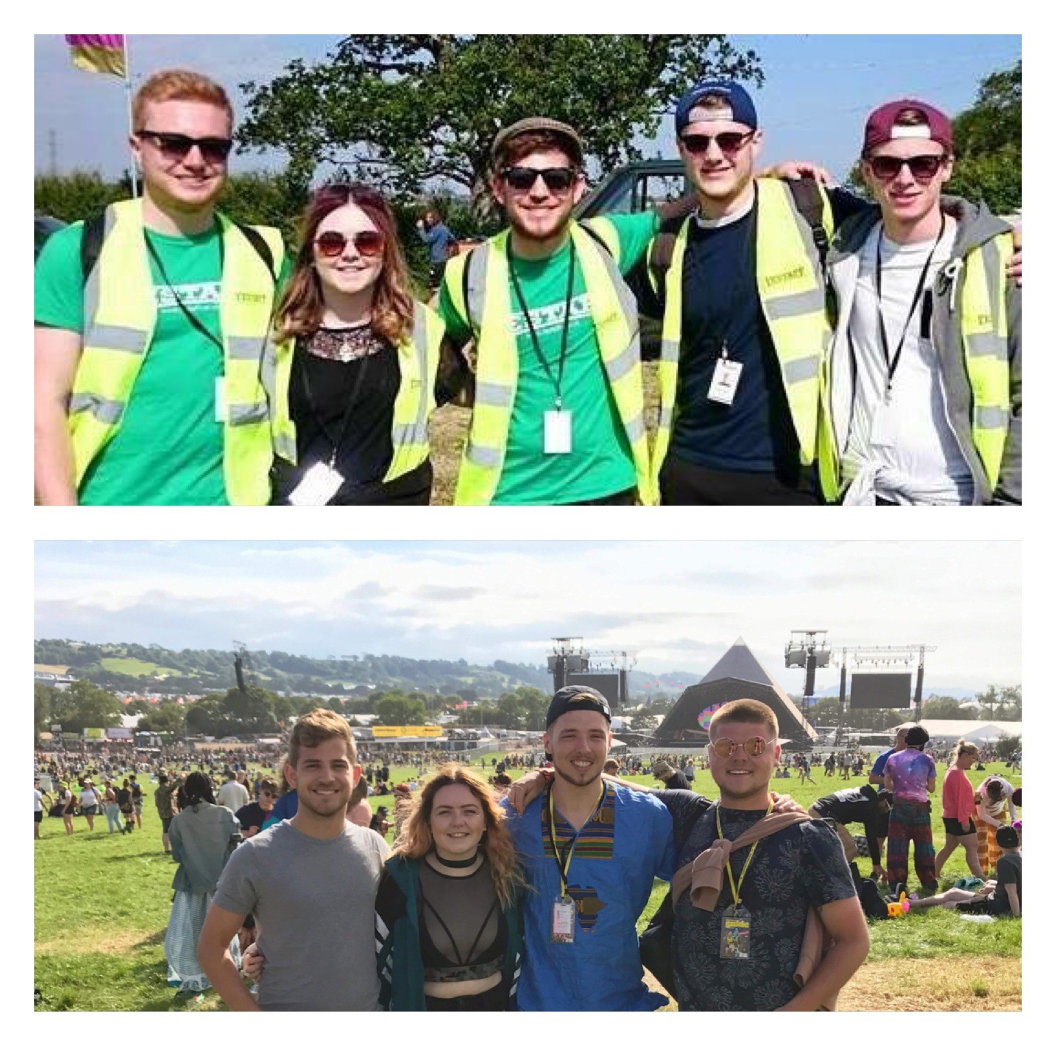 I love festivals - that's why I volunteer