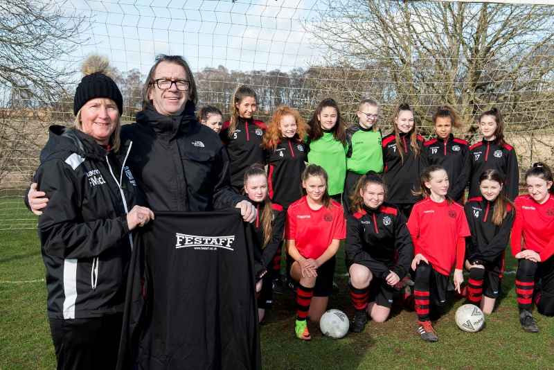 Scone Thistle Girls Football Team